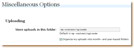 Change file upload options in WordPress