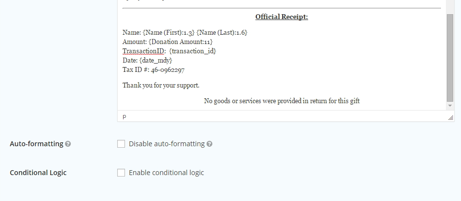 Gravity Forms Tip: How to Add a PayPal Transaction ID to